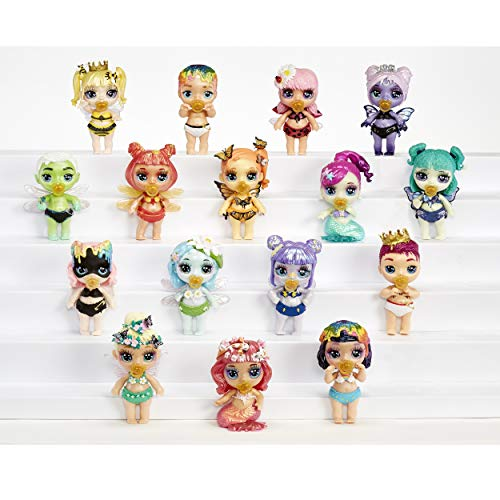 Poopsie Rainbow Surprise Fantasy Friends That Spit Sparkly Slime and Toot Glitter, Multicolor