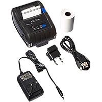 Citizen America CMP-20BTU CMP-20 Series Portable Mobile Receipt Printer, 2 Printer Class Size, 203 DPI Resolution, Bluetooth, Black