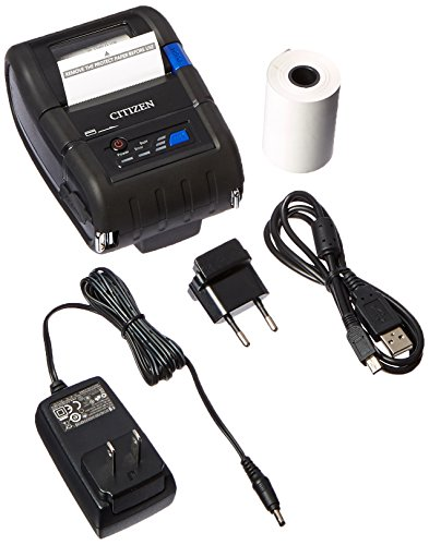 Citizen Receipt Portable Printers - Citizen America CMP-20BTU CMP-20 Series Portable Mobile Receipt Printer, 2