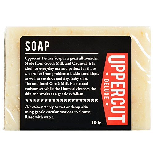 Wholesale Goats Milk Soap - Uppercut Deluxe Soap 3.5oz - Made With Goat Milk & Oatmeal