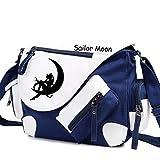 YOYOSHome Sailor Moon Anime Tsukino Usagi Cosplay Backpack Messenger Bag Shoulder Bag (Blue)