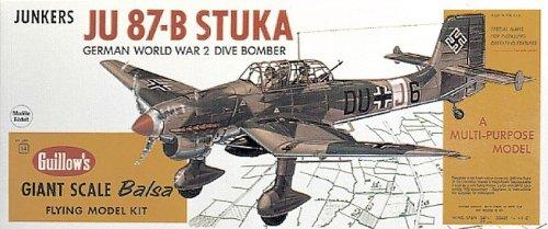 Guillow's JU 87-B Stuka Model Kit