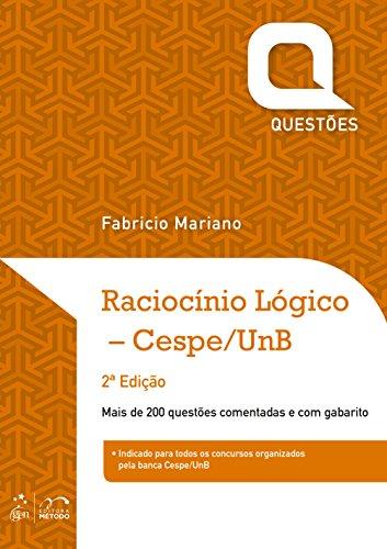 Raciocínio Lógico Cespe/UnB - Série Questões