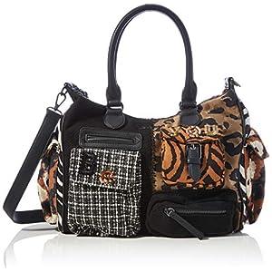 Desigual Accessories Fabric Shoulder Bag, Borsa a tracolla. Donna, Taglia unica 16