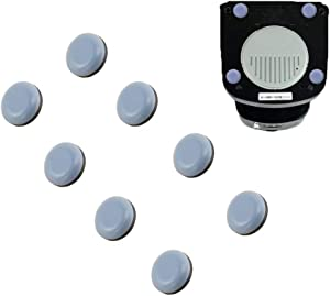 Sliding Tray for Coffee Maker,8 PCS Adhesive Magic Telfon Self Stick Sliders Coffee Pot Slider for Coffee Makers, Stand Mixers, Blenders, Air Fryers, Pressure Cooker,Kitchen Appliance Sliders