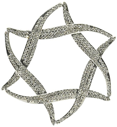 Unik Occasions Star of David Crystal Rhinestone Cake Topper
