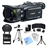 Canon VIXIA HF G40 Camcorder, 64GB Card, and Accessories Bundle - Includes Camera, Card, Bag, Tripod, Mini Tripod, Card Wallet, Card Reader, Screen Protectors, Cleaning Kit, and Cleaning Cloth