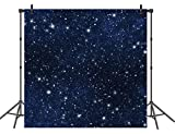 Stars Backdrop Night Sky Curtain Backdrops Space Theme Background for Wall Paper Photography Props Decor Background for Room