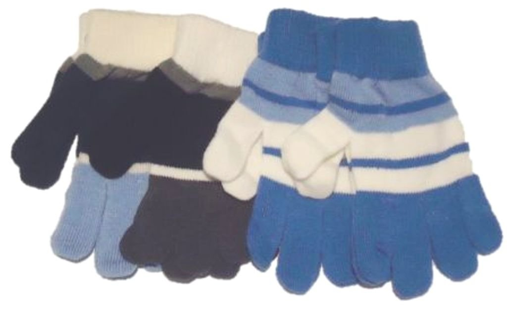 Four Magic Stress Gloves for Children Ages 5-10 Years