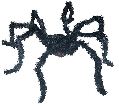 UHC Scary Creepy Crawly Light Up Spider Horror Party Decoration Halloween Prop
