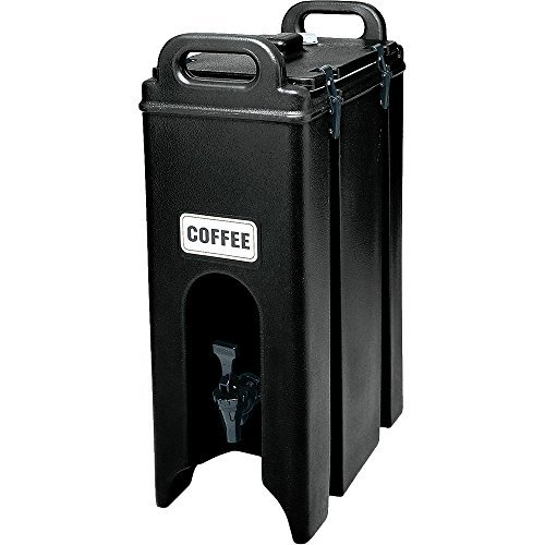 Cambro 500LCD110 Black 4.75 Gallon Camtainer Insulated Beverage Dispenser by Cambro Cambro Beverage Dispenser