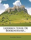 Liederen Voor de Boerenstand..., Agatha Deken, 1273681010