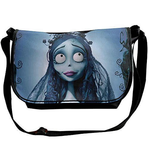 Victor Corpse Bride Costume - Halloween The Corpse Bride Travel Adjustable Strap Crossbody Messenger/Shoulder Bag