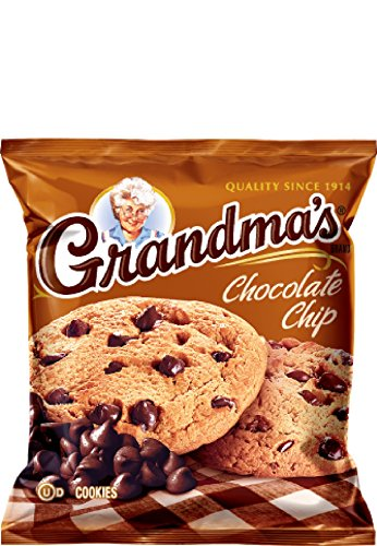 Grandmas Chocolate Chip - Grandma's Cookies - Chocolate Chip (2 1/2 oz.) (2 Cookies) (5 Packs, 10 Cookies Total)