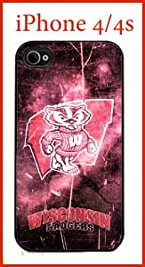 iphone covers University of Wisconsin NCAA Wisconsin Badgers Iphone 5c Case Hard Silicone Case