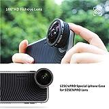 SESENPRO 180°HD Fisheye Lens, 14mm Phone Camera