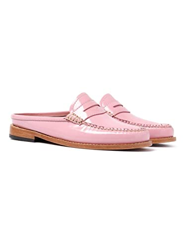 18e0789373c G.H. Bass Weejuns Women s Penny Slide Mule Bridal Rose Pink Patent ...