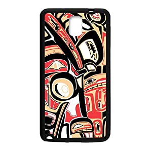 Creative Black Building Pattern High Quality Custom Protective Phone Case Cove For Samsung Galaxy Note3