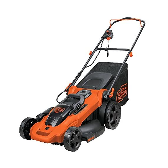 BLACK+DECKER 40V MAX Cordless Lawn Mower, 20-Inch (CM2043C) 1 Two 40V max Lithium ion batteries are included for twice the runtime Mulching, bagging and side discharge of grass clippings gives you 3-in-1 versatility Mow right up to edges and spend less time trimming thanks to the edgemax design