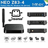 MINIX NEO Z83-4, Intel Cherry Trail Fanless Mini PC Windows 10 (64-bit) [4GB/32GB/Dual-Band Wi-Fi/Gigabit Ethernet/Dual Output/4K]