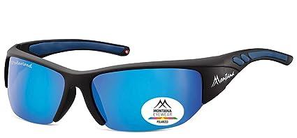 Gafas de sol polarizadas y sin caja de vidrios SP 304 A plástico negro mate -