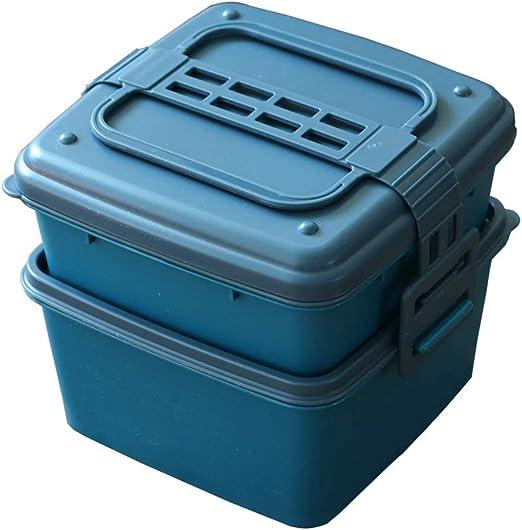 Cuencos para arroz Bento Box Inicio Square Meal Caja Fácil De Limpiar Al Aire Libre En