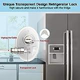 Refrigerator Locks for Children - Transparent