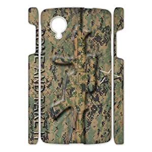 Canting_Good Weapons come and take it camouflage Custom Case Shell Skin for Google Nexus 5 3D
