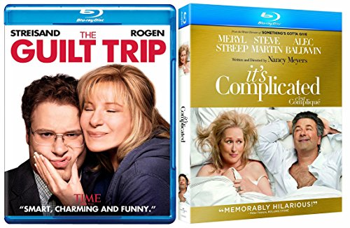 It's Complicated + Guilt Trip ... Blu Ray Double Feature Fun movie Set