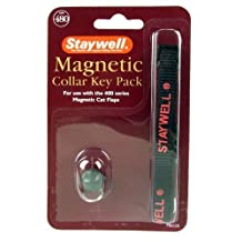 Staywell Magnetic Cat Collar Key Pack 480M