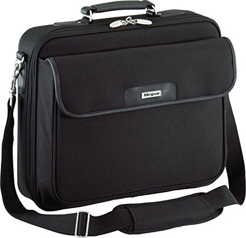 (Targus Traditional Notepac Case for 15.6-Inch Laptop, Black (OCN1))