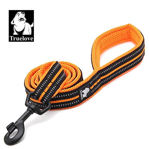 Truelove Dog Leash TLL2111 Puppy Walking Lead Leash,Pet Chain Rope,Handle Traction Rope,Padded Reflective Night Safe Leading Length 200cm Now (2.5 Medium Firm Lead)