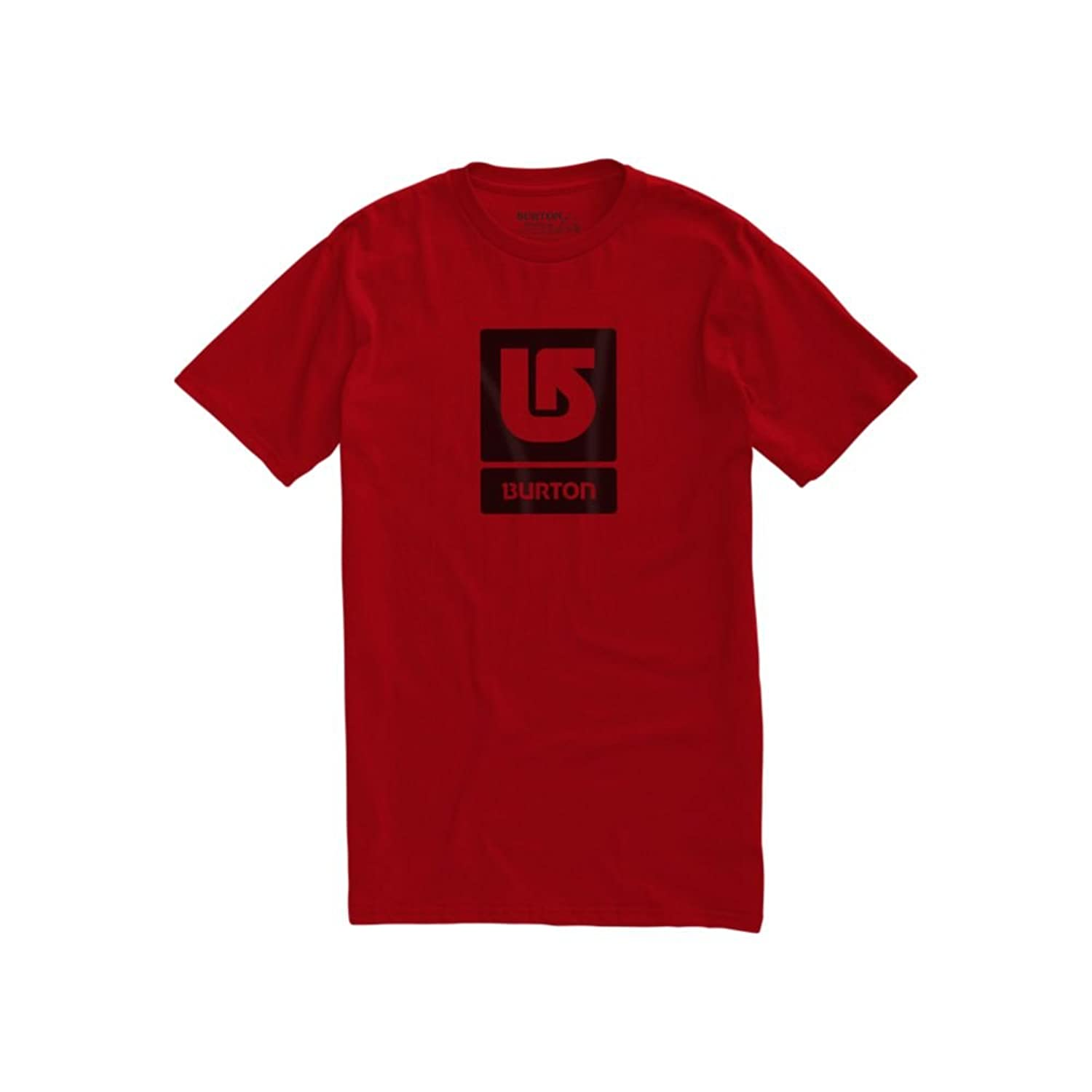 T-Shirt Men Burton Logo Vertical Fill T-Shirt