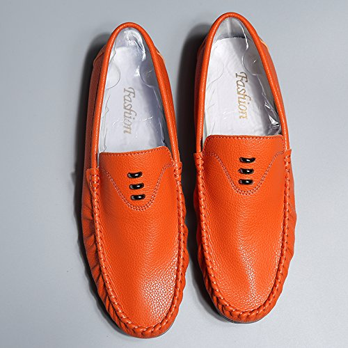 The Man Driving The Car Skid Shoes Casual Shoes High Quality Classic Casual Shoes Orange VBHWs