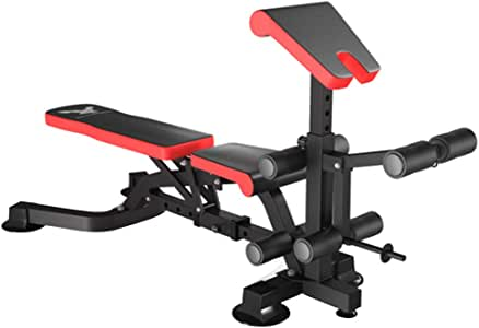 Adjustable Benches Household Belly Board Multi-Functional Fitness Chair Bird Bench Press Board Dumbbell Bench sit-ups Fitness Equipment Indoor Sports Dumbbell Bench