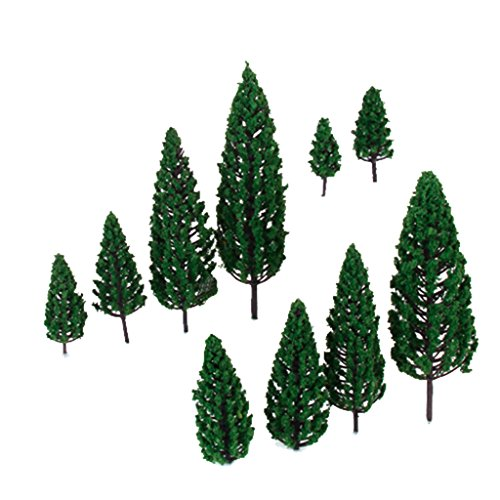 10 Model Tree Train Railway War Game Park Forest Scenery for sale  Delivered anywhere in Canada
