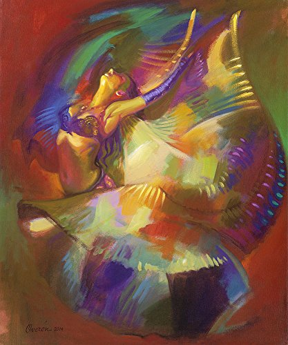 Butterfly Belly Dancer by Hendrick Gil - Canvas Art Print (12x14) (Amaze Art Gallery)