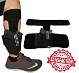 Anti-Slip Ankle Holster | Universal Neoprene Concealed Carry Leg Holster | Magazine Pouch & EXTRA Strap | Fits: Glock 26, 27, 42, 43, Smith & Wesson Shield, Bodyguard 380, Ruger LCP, LC9, Sig Sauer