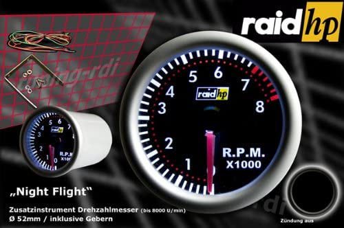Raid HP Night Flight 660264 Rev Counter
