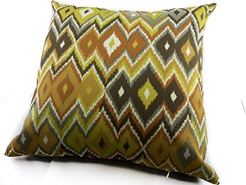(20 X 20 Gold Rush Outdoor Fabric Pillow Cover. Swavelle Mill Creek Marva Terrace Pompeii Tropix)