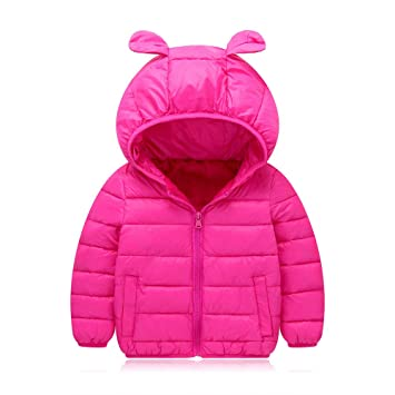 1c42f30a0 Amazon.com  Winter Kids Warm Coat Clothes Baby Boys Girls Long ...