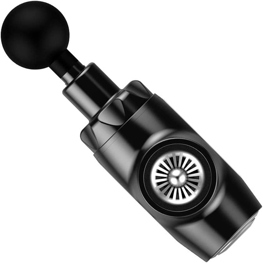 Amazon.com: BOOSTER E Deep Relaxation Massage Gun 9-Speed Shift 55 Hits Per  Second 5 Head Types 12Mm Amplitude Muscle Relaxation After Fitness Exercise,Black,Professional:  Health & Personal Care