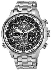 Citizen Watch JY8030-59E - Reloj de cuarzo para hombre, correa de acero inoxidable color plateado