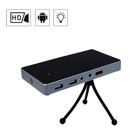 YTDDD Proyector, Smart Android Mini Proyector de Video, Proyector ...