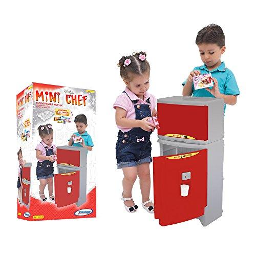 Refrigerador Duplex Mini Chef Xalingo Vermelho