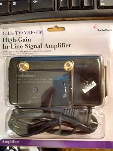 RadioShack Cable TV High Gain Signal Amplifier