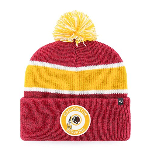 6027c6ef9a4  47 Washington Redskins Beanie Hat Noreaster Vintage Knit