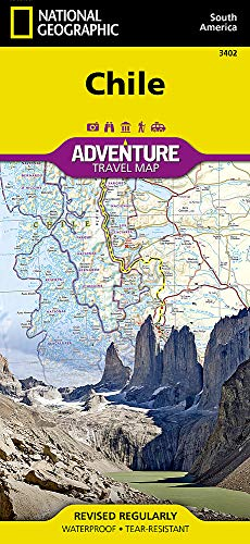 - Chile (National Geographic Adventure Map)