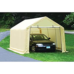 Amazon.com : 10 ft. x 17 ft. Portable Shed, Garage or Car ...