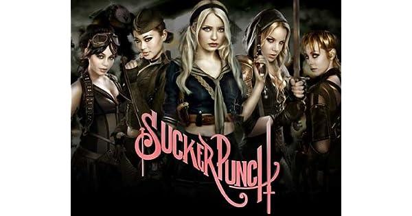 Amazon.com: Sucker Punch Cartel Estilo de película B (11 x ...